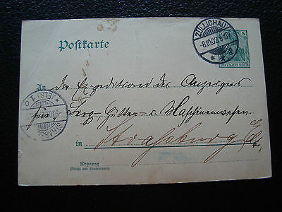 ALLEMAGNE - carte entier 1902 (cy72) germany