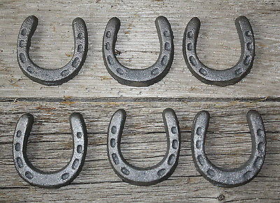 25 Cast Iron MINI HORSESHOE Texas Lone Star Rustic Ranch HORSE SHOE