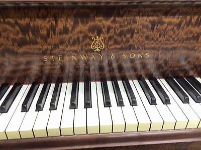 "Steinway model ""A"" flame mahogany complete rebuilt to perfect condition"
