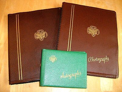 Vintage Photo Albums with pictures from the 40s and 50s girl scout signature bk