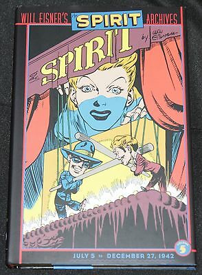 WILL EISNER/'S SPIRIT ARCHIVES HC VOL 1-5 New 50/% Off Plus Free Shipping!
