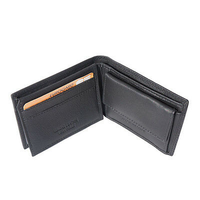 Wallet & Card Cases Italian Genuine Leather Hand made in Italy Florence PF09 bk