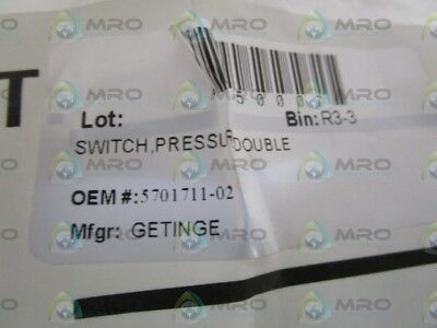 Getinge Pressure Double Switch 5701711-02 *new Out Of Box*