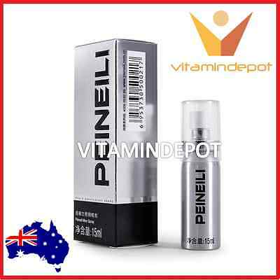 Peineili Natural Premature Ejaculation Delay Spray Prolong Sex and Pleasure