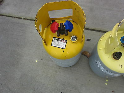 30Lb Refrigerant Recovery Cylinder Tank, Used