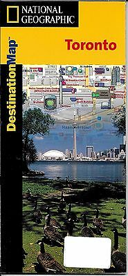 Map of Toronto, Canada, by National Geographic DestinationMaps