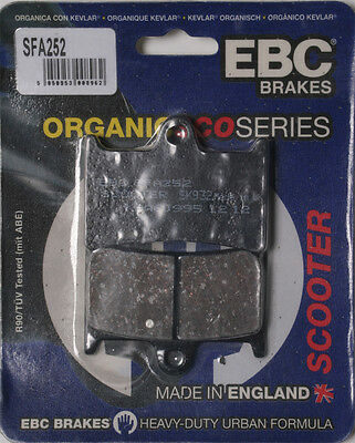 EBC BRAKE PADS Fits: Yamaha XP500 TMAX