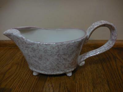 NEW ATTINGHAM Stoneware pink blush GRAVY BOAT /  SOLD OUT from Anthropologie