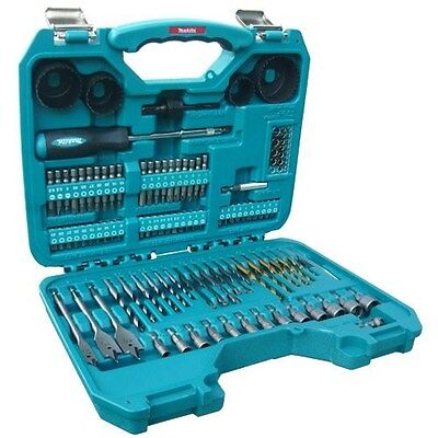 Makita Power Drill Accessory Tool Set 100 Pieces Complete Kit & Case P-90249 NEW
