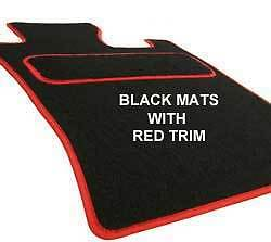 HYUNDAI COUPE (2002 ON) Tailored Car Floor Mats Red