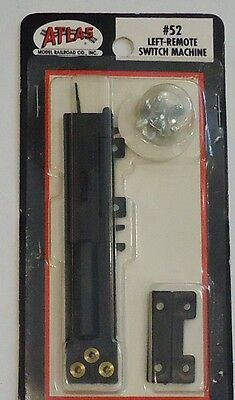 Atlas HO Scale Code 100 Switch Machine Remote Left-Hand  #52