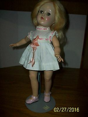 Vintage Toni P-90 Hard Plastic 14 inch Blond Doll by Ideal