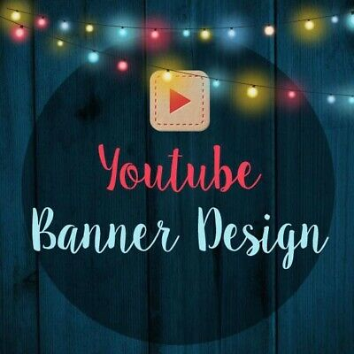 Customized Youtube Graphic Design Services For Channels And Advertising Channels