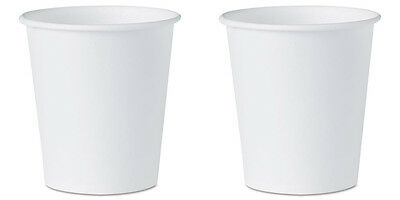 White Paper Water Cups 3 oz. 100/Pk 2 Packs