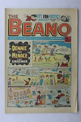 The Beano #1873 June 10th 1978 FN Vintage Comic Bronze Age Dennis The Menace
