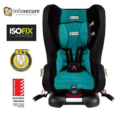 Infasecure Kompressor II Luxury Caprice Kid Baby Car Seat 0-4 year ISOFix Jade