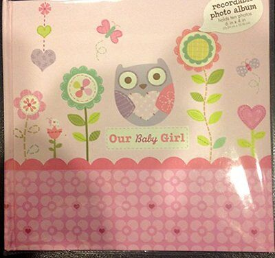 C.R. Gibson Stepping Stones Recordable Photo Album, Our Baby Girl Discontinued