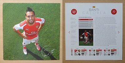 2012 - 2016 Arsenal Signed Official Club Cards