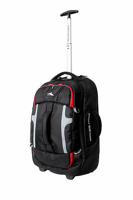 NEW High Sierra 63216-1041 Composite Wheeled Duffle 56cm Black