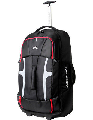 NEW High Sierra Composite Wheeled Duffle 76cm Black 2.9kg