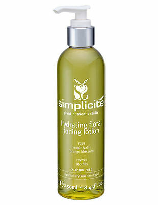 NEW Simplicite Hydrating Floral Toning Lotion - Normal/Dry Skin