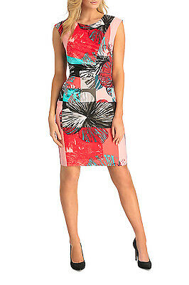 NEW Basque Spliced Monsteria Print Dress Assorted by Myer