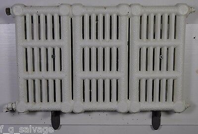 Antique Vintage Wall Hung Hot Water Radiator Late 1800's Fowler & Wolfe