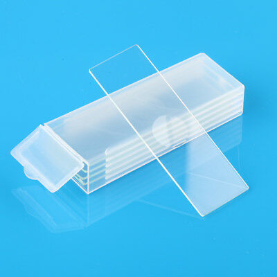 5Pcs Single Concave 7103 Microscope Micro Slides Glass 25.4x76.2mm Clear