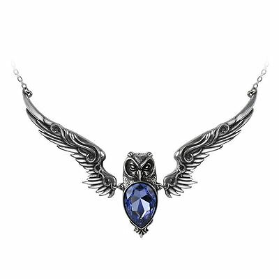 Alchemy Gothic Stryx Pewter Necklace BRAND NEW
