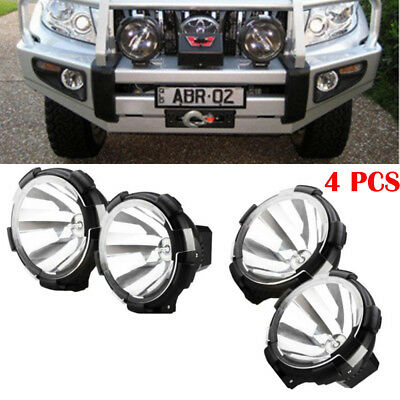 4x HID XENON Truck Lamp Spot Lights Driving Offroad Working Bulb 100W 12V 7inch