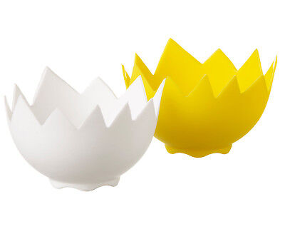 Eddingtons Poach Perfect 2x Silicone Egg Poachers for perfectly poached eggs
