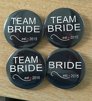 Hen Party Night Do Team Bride Badge Set Bride To Be Badges Accessories X 4