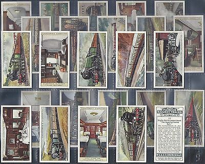 Churchman-Full Set- Famous Railway Trains - Exc+++