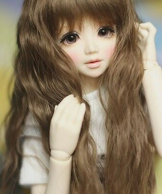 1/4 BJD SD doll Girl Unoa lusis Doll FREE FACE MAKE UP+EYES-Araki