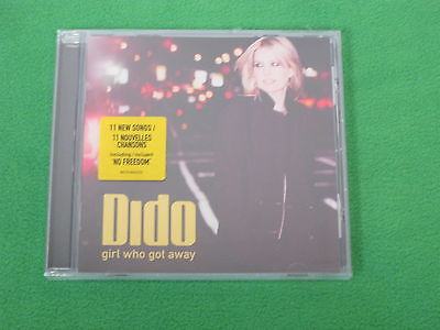 Girl Who Got Away By Dido On Audio CD Brand New 8356