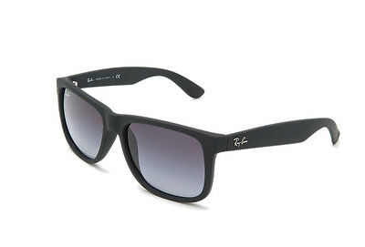 NEW Genuine Ray Ban RB4165 - Black (Grey Gradient lens) Sunglasses