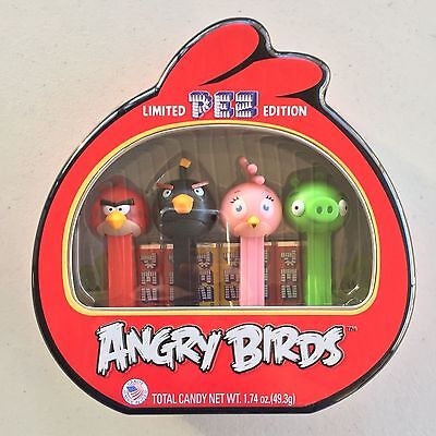 PEZ - Angry Birds - Set of 4 - Mint in Tin
