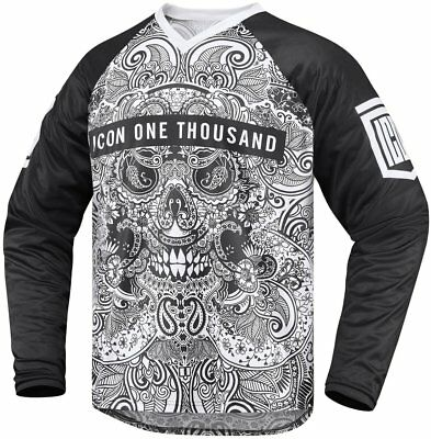 Icon Mens 1000 Collection Lace Face Adventure/MX/Offroad Riding Jersey