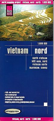 Map of Vietnam, North, by Reise Know How Maps (2013)
