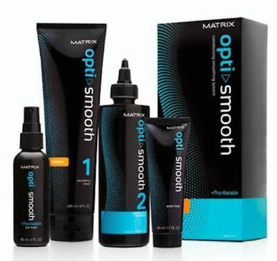 Matrix Opti.Smooth Kit Normal Permanent Hair Smoothing System Straightening