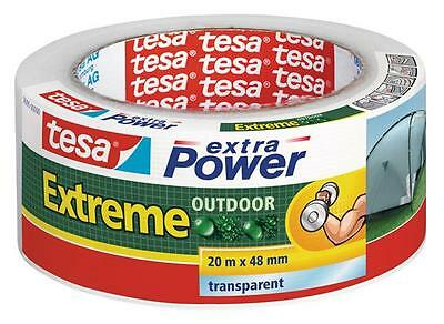 tesa® extra Power Extreme Outdoor 20 m x 48 mm transparent
