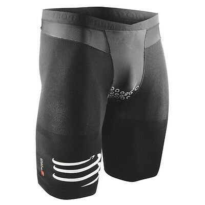 COMPRESSPORT TR3 Brutal Short V2 Radsport Triathlon Bike Laufen Kurzhose schwarz