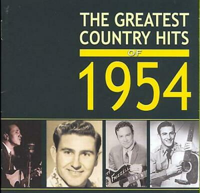 Various Artists - The Greatest Country Hits Of 1954 New Cd