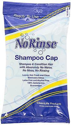 NEW Easy Bath  - No Rinse Shampoo Cap Unscented - One Simple Step for Clean Hair