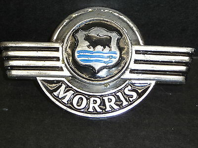 Morris Minor Bonnet Front Badge - Bull Emblem Badge Ornament