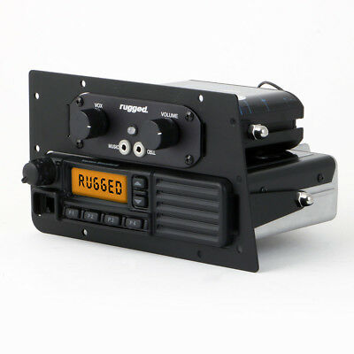 Rugged Radios Mobile Radio / Intercom Mounting Plate for Can-Am Maverick