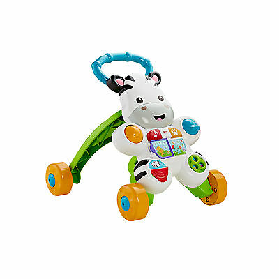Fisher-Price Learn with Me Zebra Walker Free Shipping New