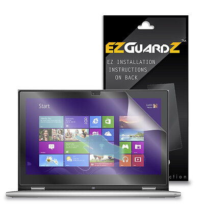 """3X EZguardz LCD Screen Protector Skin HD 3X For Dell Inspiron 7000 13.3"""" Laptop"""