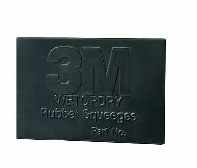 3M Rubber Squeegee - 2 x 3 in Squeegee - 05518, 5518