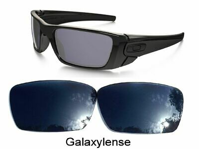 Galaxy Replacement Lenses For-Oakley Fuel Cell Black Iridium Polarized 100%UVAB